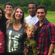 Aryelle,christian, Dr. Tina, nick in front, alek on right and Anthony (rear)who became part of the family two years ago