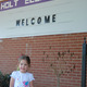 Tabitha Jacks at the temporary home of Holt Elementary