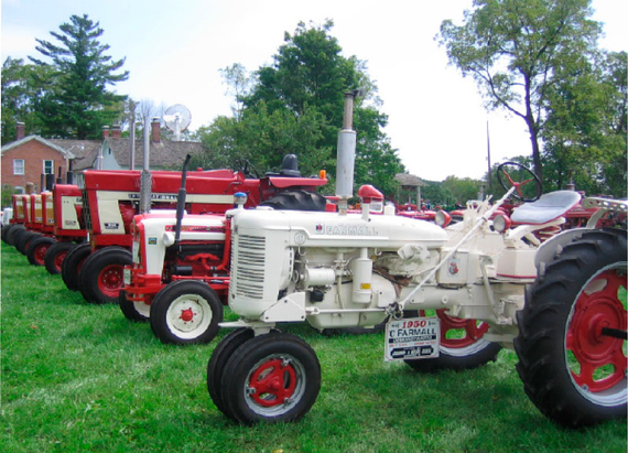 Antique tractor and equipment show august 11