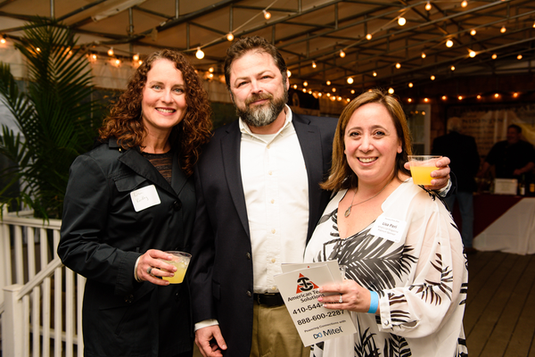 Lisa Keithley, Jeff Peri, and Lisa Peri, What's Up? Media-Platinum Sponsor