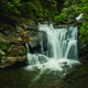 Dukes Creek Falls. Photo by Peter McIntosh.