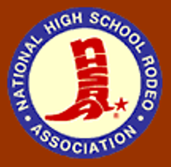 National high school rodeo association logo