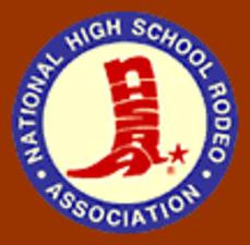 Medium national high school rodeo association logo