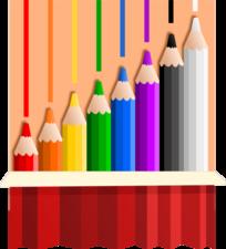 Medium coloredpencils