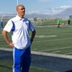 Ahmed Bakrim, Bingham soccer coach, calls out to his players during a game. – Tori La Rue