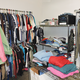 Clothing for adults and children is available.