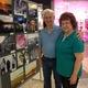 Lance and Louvoe Linton enjoy art on their walk through Fashion Place Mall.  —Alisha Soeken