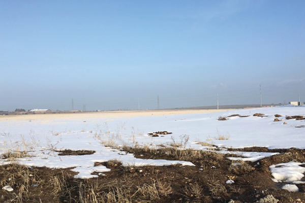 Empty fields like this one on the west side of West Jordan will soon be under construction as the population grows. City staff hope an Auto Mall will claim some of that open space. – Taylor Stevens.
