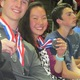 Two South Hills students pose with the medals they received at Science Olympiad. – Dawn Monson