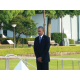President Obama at Peace Memorial Park, Hiroshima. —Toshiharu Kano
