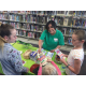 Members could sign up for the library's summer reading challenge during the grand reopening of the Tyler Library on Saturday, June 11. —Liz Sollis