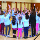 Woodstock Girls on the Run teams ran laps around their school, gradually increasing the amount they practiced until they held a practice 5K on April 28. —Christy Van Orman