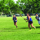 One player on the Bingham High Girls Lacrosse Team goes for a goal at the annual Bingham boys versus girls game on May 23. –Tori La Rue