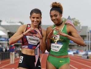 Jenna Prandini and Deajah Stevens Photo courtesy of OregonLivecom