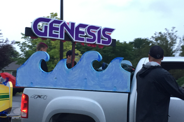 Genesis Dance Company at the 2016 Maple Grove Days Pierre Bottineau Parade along 89th Avenue Thursday, July 14