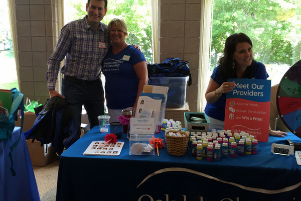 Oakdale ObGYN at the Maple Grove Days Business Expo 2016. (photo by Wendy Erlien)