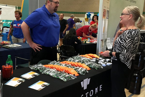Trustone Financial at the Maple Grove Days Business Expo 2016. (photo by Wendy Erlien)