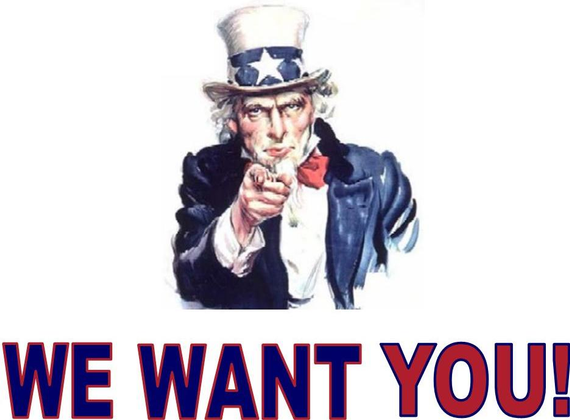 Uncle sam we want you