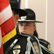 The Sandy Police Honor Guard present the colors at the July 19, 2016 meeting. (Photo: Chris Larson, Sandy City Journal)