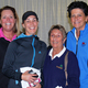 Overall winners of last years BBA Golf Tournament shown L-R are Pam Brodeur Karen Dutil Dot Murray and Cindy McNulty