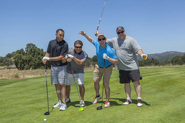 2. BI Design Owner Craig Badolian with teammates Sergio Blanco, Justin Gilhuly and Scott Kwidzinski