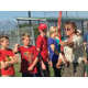 RaLynne Takeda instructs archery at the South Jordan Softball Complex. – Tori La Rue