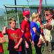 RaLynne Takeda instructs archery at the South Jordan Softball Complex. – Tori La Rue