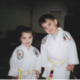 Mary and brother Mark getting their yellow little ninja belt – Just turned 3 years old.