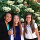 Angel Lui, Regan Turner and Gabby Proctor pose for a photo shortly after finishing their interview at the National History Day Competition at the University of Maryland. –Stasha Wheeler