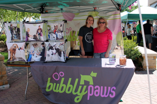 Bubbly Paws at Woofstock, presented by Good Karma Animal Rescue of MN, at The Shoppes at Arbor Lakes Aug. 6, 2016. (photo by Wendy Erlien)