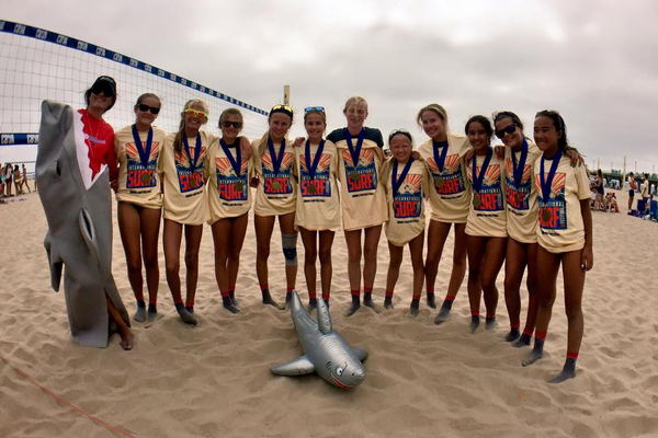 12 and under champs - Photo credit: Manhattan Beach Parks & Rec