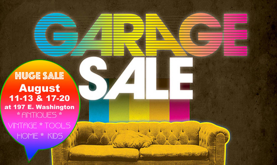 Huge Church Fundraising Garage Sale