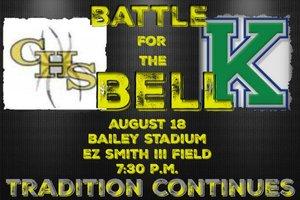 Battle for the Bell  - start Aug 18 2016 0730PM