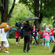 Participants dodged a little rain in the District 279 Foundation's Reading is Fun 5k Run/Walk on Saturday, Aug. 20 at Elm Creek Park Reserve. (Photo By: Wendy Erlien)