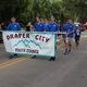 The youth council walk in the Draper Days Parade. —Caroline Sagae