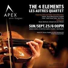 Chamber Music with the DSO - start Sep 25 2016 0630PM