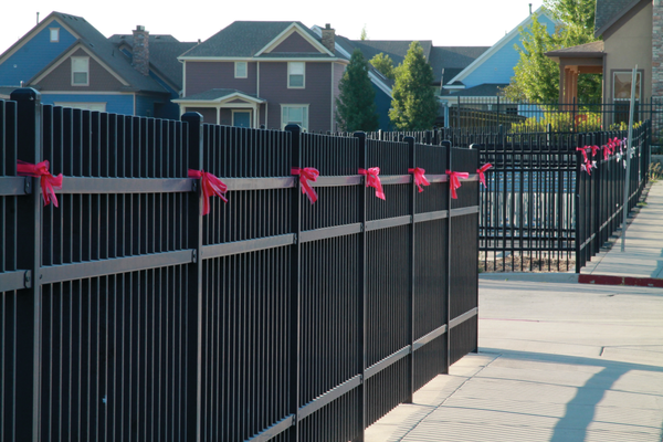 Ribbons were tied in honor of the Jennifer and Brooklyn Lambourne. –Sandra Osborn