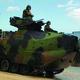 An assault vehicle