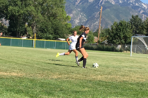 The Highland High girls soccer team defeated Cottonwood High 6-0 on Aug. 11. The Rams return 10 starters from a year ago. –Travis Barton