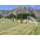 The Highland High girls soccer team scores against Cottonwood High on Aug. 11. –Travis Barton