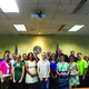 The West Valley City Council and the Youth City Council take a photo together after the Youth City Council members were awarded keys to the city during a study meeting this summer. –Kevin Conde