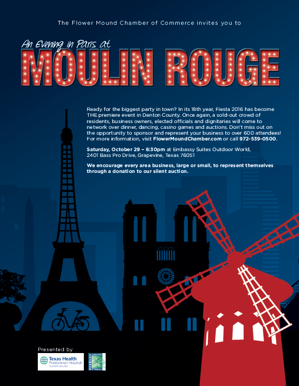 Moulin Rouge: An evening in Paris