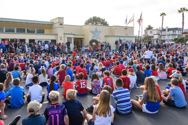 Grand View Elementary ceremony - Photo credit Steve Gaffney