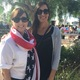 City council member Amy Howorth and MBEF Executive Director Farnaz Flechner at the Robinson Elementary ceremony