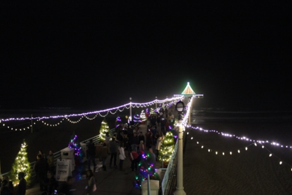 29th Annual Pier Lighting 24th Holiday Open House