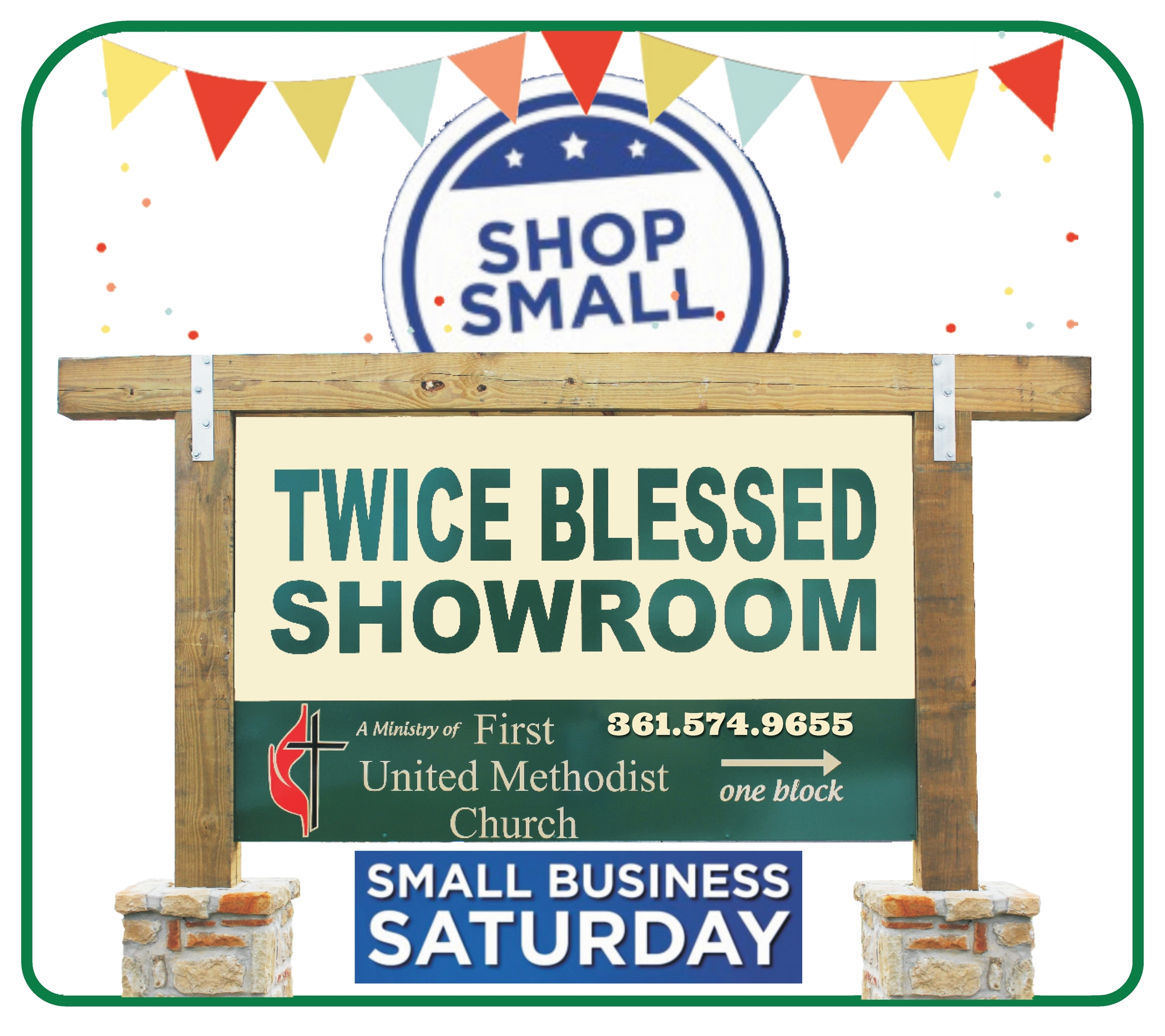Twice 20blessed 20showroom  20small 20biz 20sat