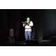 Professional DFW actor Stephen Bates as Shrek during Act I.
