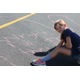Basswood Elementary students participated in Kindness in Chalk Oct. 3, 2016 as part of  National Bullying Prevention Awareness Month.