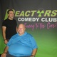 Chris Coccia left was the headliner for the opening show of the Reactors Comedy Club last weekend in Glen Mills The club manager is John Ager seated