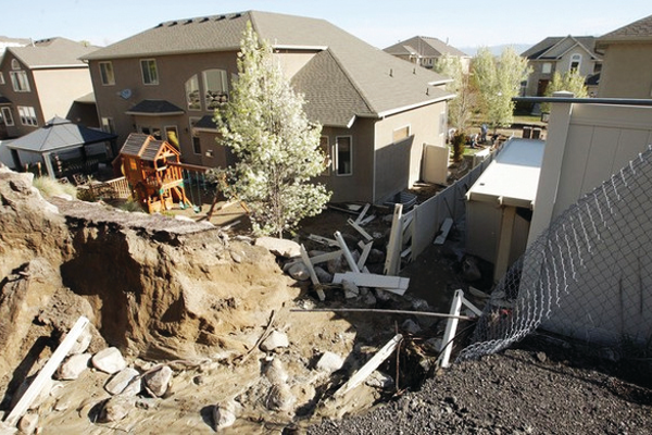 The canal breached in April 2013—Deseret News